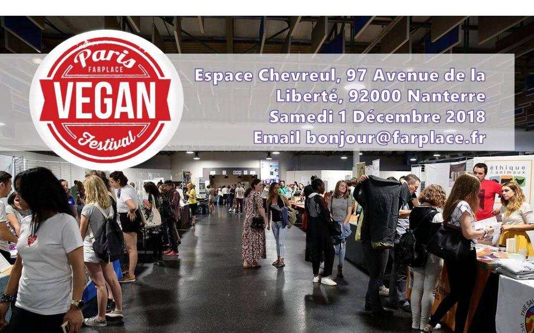 Paris Vegan Festival – 1er Décembre 2018